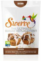 Swerve Sweetener Brown Sugar Replacement Zero Calories Ketogenic No Carb 12oz