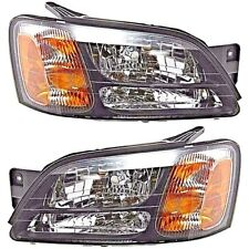 Fits 00-04 Legacy GT, Outback, 03-06 Baja Rt & Lt Headlamp Assemblies - pair