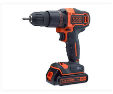 XMS19BD18VD Black & Decker Combi Drill 18V 2 x 1.5Ah Li-ion with 120 Piece Set