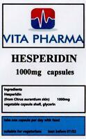 HESPERIDIN 1000mg 30 caps CIRCULATION CARDIOVASULAR ANTIOXIDANT