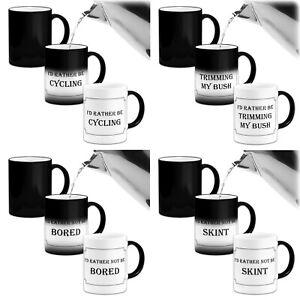 I'd Rather Be (Various).... Novelty Heat Colour Changing Mug