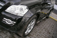 fender flares mercedes gl class x164 2006-2009 AMG Look fenders