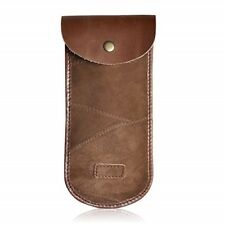 Unisex Leather Cover for Sunglasses Brown Spectacles pouch