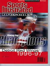 June 18, 1997 Sports Illustrated Detroit Red Wings Steve Yzerman- NO LABEL