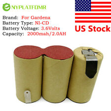 For Gardena 3.6V 2000mAh Accu60 Accu 60 NICD battery pack electrical Power tool