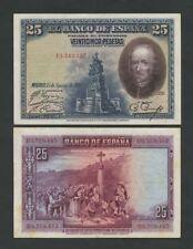 España - 25 pesetas 1928 P74 buen billetes muy fina ()