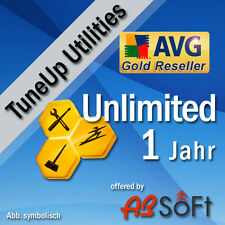 TuneUp Utilities 2017 1, 3, 5, 10 UNBEGRENZT PC/Geräte AVG Tune Up Performance