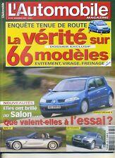 L'AUTOMOBILE MAGAZINE n°678 12/2002 LANCIA THESIS &PHEDRA BMW Z4 JAGUAR XK8