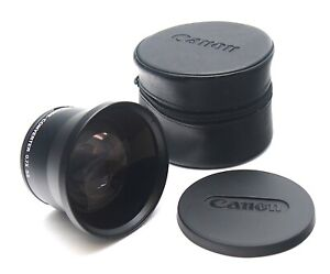 Canon 55mm 0.7x Wide Angle Converter (Cased) - UK Dealer