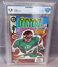 GREEN LANTERN #1 (White pages, 2nd series) CGC 9.8 NM/MT DC Comics 1990