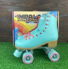Impala Quad Roller Skate Womens Size 8 Aqua Vegan New In Hand