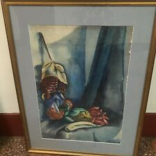 ART DECO PAINTING SIGNED P DICKINSON