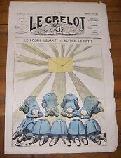 Le Grelot Journal Satirique N°121 Le Soleil Levant Par Alfred Le Petit 3/08/1873