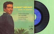 GILBERT BECAUD / En Español LA VOZ DE SU AMO 7EPL13.456 Press. Spain 1960 EP VG+
