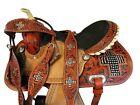 BARREL RACING WESTERN SADDLE 15 16 PLEASURE HORSE CUSTOM MADE LEATHER TACK SET