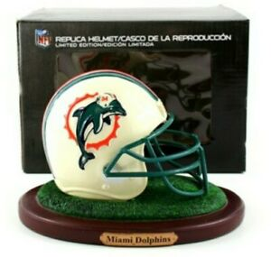 2010 Memory Company Limited Edition NFL Riddell Replica Helmet Miami Dolphins