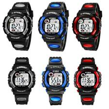 SYNOKE 3 Colors 2 Sizes Student's Kids Sports Watch Gift Digital Cool Wristwatch