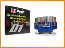 D1 Spec Genuine Blue Color Ball-Lock System Steering Wheel Quick-Release
