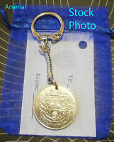 Arsenal FC FA Cup Football Club Coin Keyring Gift unusual present Christmas re