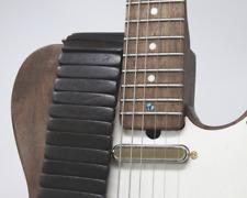 Black Wood Solano Guitar Strap | Custom | Premium | Acoustic| Electric Bass