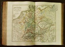 1854c,SPRUNER ATLAS:GERMANIA-DEUTSCHLAND.TAV.VIII.Von 1493-1618.Reformation.ETNA