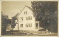 Waterloo NH The Henley c1920s Real Photo Postcard