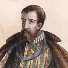 François Ier de Lorraine Duc de Guise Le Balafré Chambellan Guerre de Religion