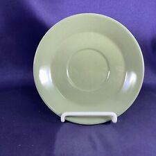 """Wedgwood MOSS GREEN Cream Soup Saucer 6 1/4"""""""