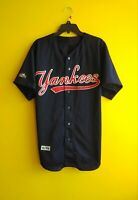 ⚾ NEW YORK YANKEES VTG MAJESTIC MLB BASEBALL JERSEY MEN'S L