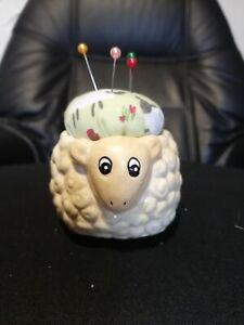 Pin Cushions novelty gift sewing quilting cute sheep farmyard animal