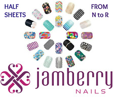 jamberry wrap half sheets that begin with  * N to R * ~ buy 3 & get 1 FREE!!! 🎁