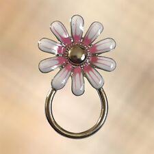 NEW Pink & White Flower Eyewear Eye Glasses Spectacle Hanger Brooch Pin Holder