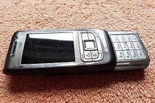 Nokia E65 * Braun Klassik * GUT * Symbian Slider WLAN UMTS 2,0MP |21