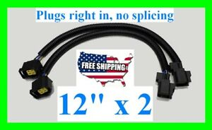 2 12 O2 Oxygen Sensor Extension Harness Dodge Jeep Chrysler SRT RAM 1500 Charger