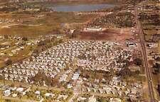 Lakeland Florida Woodall Mobile Home Village Vintage Postcard K54228