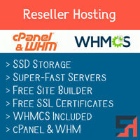 Reseller Hosting & WHMCS - Unlimited Everything, Free SSL Certificates + More!