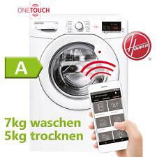Hoover Waschtrockner Waschmaschine Wäschetrockner Trockner 7 + 5 kg EEK A 2in1