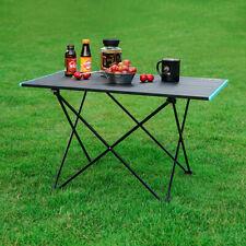 Aluminum Folding Table Compact Picnic Camping Dining Beach Garden BBQ Desk L/M/S