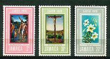 JAMAICA 1970, Paintings, Easter, Carracci, Antonello, Jesus, Mi#304-06, MNH 2022