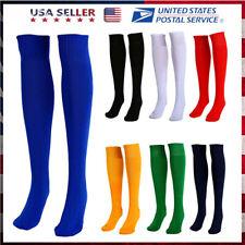 Men Sports Football Soccer Long Socks Baseball Hockey Over Knee High Socks Gift