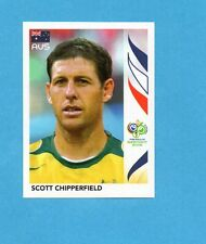 PANINI-GERMANY 2006-Figurina n.419- CHIPPERFIELD - AUSTRALIA -NEW BLACK
