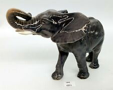 "ThriftChi ~ Royal Copenhagen Porcelain Elephant Figurine 6"" T"