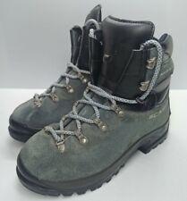 Scarpa Manta UK 4 Grey Suede Walking Hiking Mountaineering Boots Women's