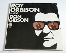 Roy Orbison 1967 MGM Stereo LP Sings Don Gibson Capitol Record Club Issue cLEAn!