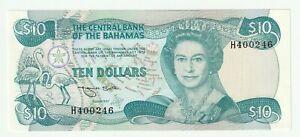 Bahamas 1984 10 Dollars P.46 ( UNC- )