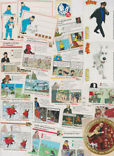 LOT TINTIN IMAGES 58 IMAGES STICKERS SUR LE THEME TINTIN