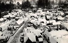 Bourton-on-the-Water Glou UK~Snow View of The Model Village~Photograph POSTCARD