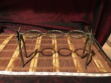 """Asian Solid Brass Bamboo Stand Holder 9 5/8""""x5 5/8"""""""