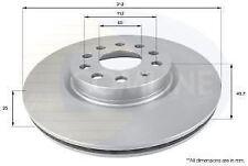 FRONT COMLINE COATED BRAKE DISC VW GOLF VI 1.6 1.4 2.0 TDI GTI 1.8,audi A1 A3 TT