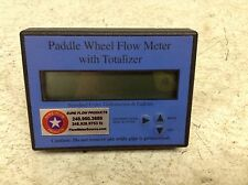 Sure Flow Products Paddle Wheel Flow Meter with Totalizer Gallons/min & Gallons